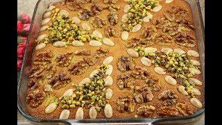 طريقة عمل الهريسة السورية بالسمنة العربية الهريسة السريعة بطعم رااائع مع رباح محمد ( الحلقة 481 )