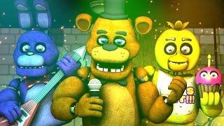 Five Nights at Freddy's Song (FNAF SFM 4K Remake)(Ocular Remix)