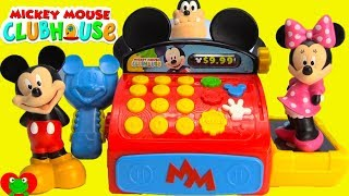 Mickey Mouse Club House Friends Toy Learning Cash Register Surprises