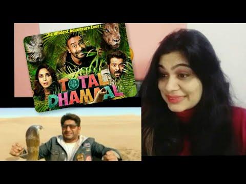 Xxx Mp4 Total Dhamaal Trailer Reaction Ajay Devgn Anil Kapoor Madhuri Dixit Smile With Garima 3gp Sex