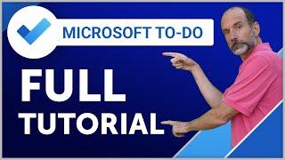 Microsoft To-Do   2019 Full Tutorial