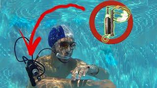 كيف تصنع جهاز تنفس تحت الماء