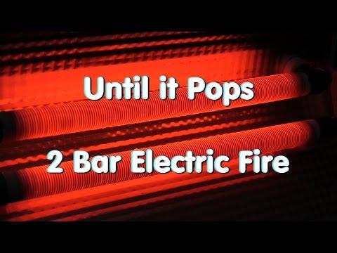 Until it Pops 2 Bar Electric Fire