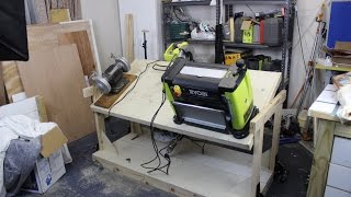 Ep7-Flip-top Tool Bench الحلقة السابعة - طاولة ذات سطحين