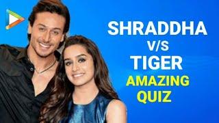 Quiz With BAAGHI Stars Tiger Shroff   Shraddha Kapoor