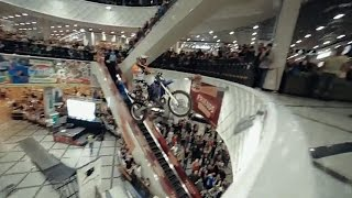 Motorcycle Mall Jump Win to Fail