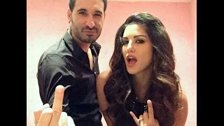 Sunny Leone's Husband Show's Middle Finger Photo - BT