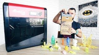 3D ПРИНТЕР! Обзор возможностей XYZ Printing Pro