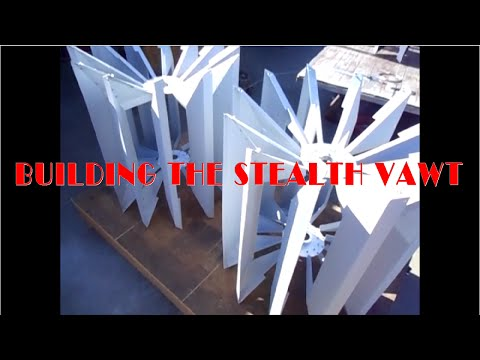 Building the Stealth VAWT