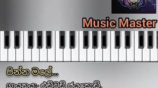 පින්න මලේ song (Pinna male song play with the keyboard).