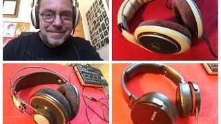 Headphone Review, Sennheiser HD 598, AKG K702, Sony MDR-XB950