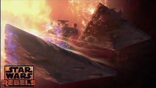 Star Wars Rebels: Rebel Crew & Mon Mothma Escapes the Empire