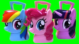 Maleta de Acessórios My Little Pony Estilista Cabeleleira Multikids TOYSBR Hair Styling Case