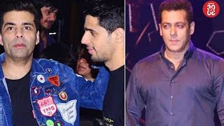 Sidharth Celebrates Birthday With Mentor KJo | Salman To Shoot The Promo Of