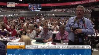 Bundesparteitag der SPD: Rede von Kanzlerkandidat Martin Schulz vom 25.06.2017
