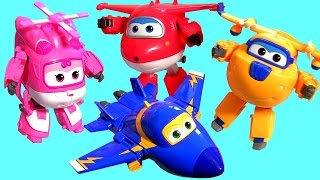 Super Wings Transforming Planes Toys 출동슈퍼윙스 신제품 장난감  -  Brinquedos Aviões Super Wings  비행기