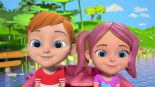 Row Row Row Your Boat | Nursery Rhymes Cartoons for Kids | Songs for Children by Little Treehouse