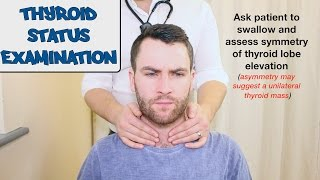 Thyroid Status Examination - OSCE Guide