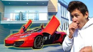 SURPRISING My LITTLE BROTHER With His DREAM CAR & Then TAKING IT BACK... (Rage)