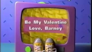 Be My Valentine Love Barney Custom Theme
