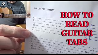 How To Read Guitar Tabs (Lesson in Tagalog)