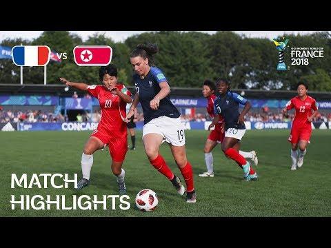 Xxx Mp4 France V Korea DPR FIFA U 20 Women's World Cup France 2018 Match 25 3gp Sex