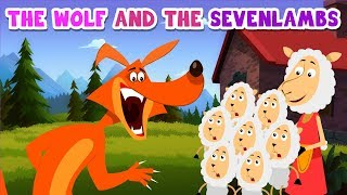 A Wolf and the Seven Lambs | Bedtime Stories | MagicBox English Kids