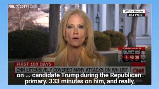 Jake Tapper slammed Kellyanne Conway over Trump falsehoods
