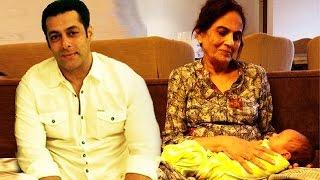 Salman Khan's Mother LOVING & BLESSING Arpita's Son Ahil