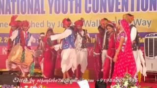 Madhya Pradesh Region ICYM-NYC 2017 Cultural Programme at Mangaluru