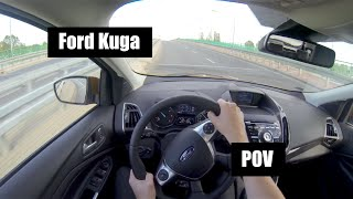 2015 Ford Kuga 2.0 TDCI 180 hp POV Test Drive