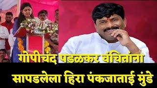 #गोपीचंद पडळकर वंचितांना सापडलेला हिरा पंकजाताई मुंडे Sharvari Pawar Director