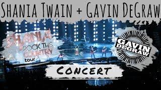 Shania Twain and Gavin DeGraw at the Bridgestone Arena in Nashville, Tennessee - Vlog Mini 17