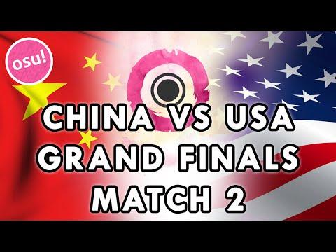 watch osu! World Cup 2015 - Grand Finals | China vs USA (Match 2) /w Twitch Chat