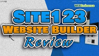 Site123 Website Builder Review - Simple in a GOOD or BAD Way? Pricing & My Opinion