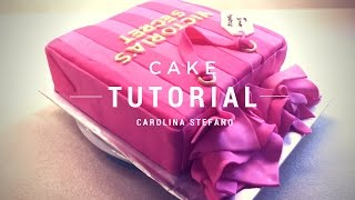 Victoria's Secret Birthday Cake - pink shopping bag