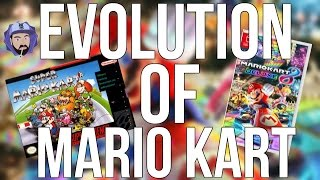 The Evolution of Mario Kart - From SNES to Nintendo Switch   RGT 85