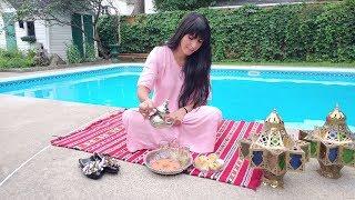 أجواء عيد الأضحى المبارك بكندا || شكرا خالتي على القفطان الرائع  Eid Mubarak from Canada