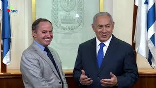 PM Netanyahu Meets with Intel Senior Management Forum