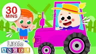 Humpty Dumpty Had a Farm, Ants in my Pants, Itsy Bitsy Languages | Fun Kids Songs by Little Angel