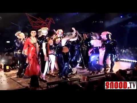 DeMask Fashion Show at Wasteland Fetish Party 2011 mp4 360p