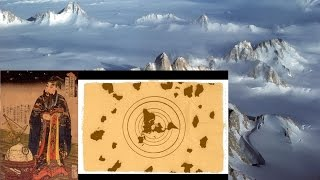 1000 Years Old Map shows secret land mass beyond the Antarctic Edge