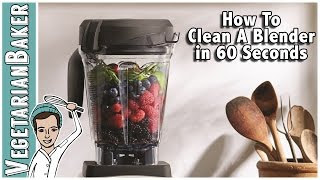 How To Clean A Blender in 60 Seconds!!!