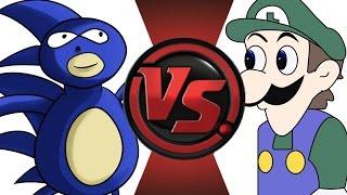 SANIC vs WEEGEE! Cartoon Fight Club Episode 16!