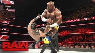 Kalisto vs. Apollo Crews: Raw, May 22, 2017