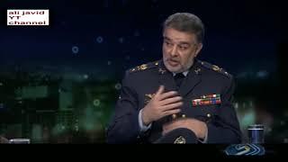 Iran IRIB2 interview Gen Bani-Safi &Gen. Delshad ,Kowsar jet ایران گفتگوی خبری، جنگنده کوثر