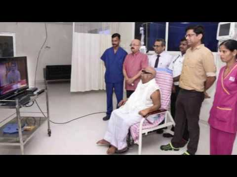 Exclusive : Kauvery Hospital Released Kalaignar Karunanidhi Latest Image In Hospital |DMK