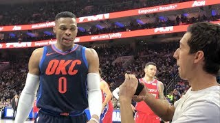 SHOWING RUSSELL WESTBROOK MY KEVIN DURANT DISS TRACK!! NOT CLICKBAIT