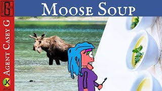 Moose Soup Lady - Some graphic language - Lady yells Moose soup inviting people in boat race.