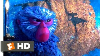 Kubo and the Two Strings (2016) - The Battle on the Boat Scene (6/10) | Movieclips